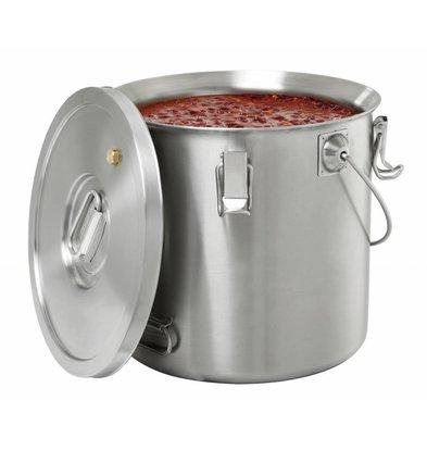 Bartscher Thermo-Transportbehälter | 20 Liter |  Ø 300x(h)345mm