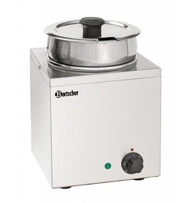 Bartscher Elektro-Bain-Marie Hotpot | Edelstahl | Einsatztopf 3,5 Liter | 210x210x(h)320mm