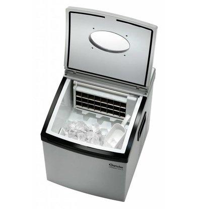 Bartscher Eiswürfelbereiter | 15kg/24Std | Eiswürfel in 2 Größen | 306x365x(h)360mm