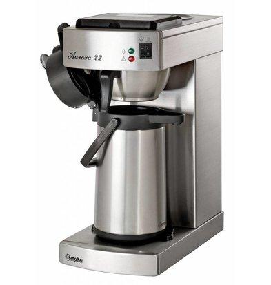 Bartscher Kaffeemaschine Aurora 22 | Volume 2 Liter | 2kW | 215x405x(h)520mm