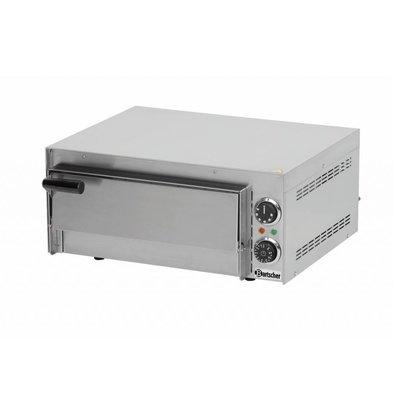 Bartscher Elektro Pizzaofen Mini | 1x Pizza Ø350mm| 2,7kW | 545x500x(h)230mm