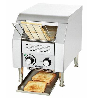 Bartscher Durchlauftoaster | 75 Toastscheiben pro Stunde | 290x440x(h)385mm