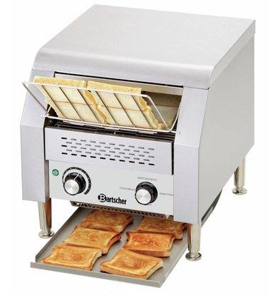 Bartscher Durchlauftoaster | 150 Toastscheiben pro Stunde | 368x440x(h)385mm