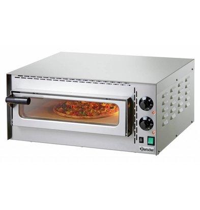 Bartscher Pizzaofen Mini Plus | 1x Pizza Ø350mm | 570x470x(h)250mm