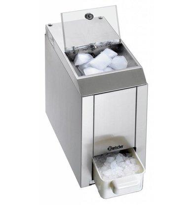 Bartscher Eis-Crusher | 60 kg/Std  | Vorratsbehälter 1 kg | 173x380x(h)385mm