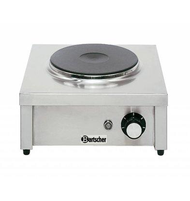 Bartscher Elektro-Kocher | 1 Kochstelle Ø220mm | 2kW-220/240V | 350x350x(h)150mm