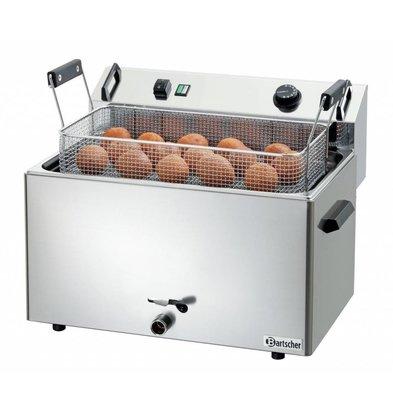 Bartscher Elektro-Backwarenfriteuse | 16 liter | 400V/9kW | 560x470x(h)400mm