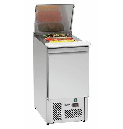 Bartscher Saladette   Umluftkühlung   1/1GN   140 Liter   430x700x(h)880mm