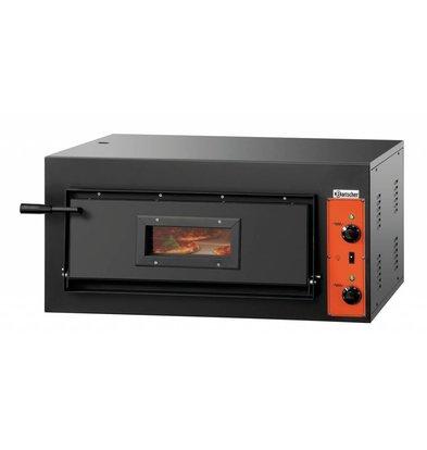 Bartscher Elektro-Pizzaofen | 4x Pizza Ø 300mm | 4,2kW-380V | 890x880x(h)430mm