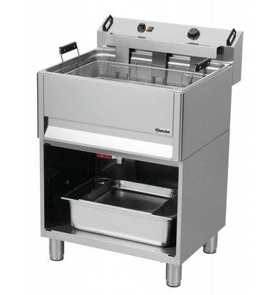 Bartscher Elektro-Backwarenfriteuse | Unterbau offen | 30 Liter | 615x490x(h)130mm
