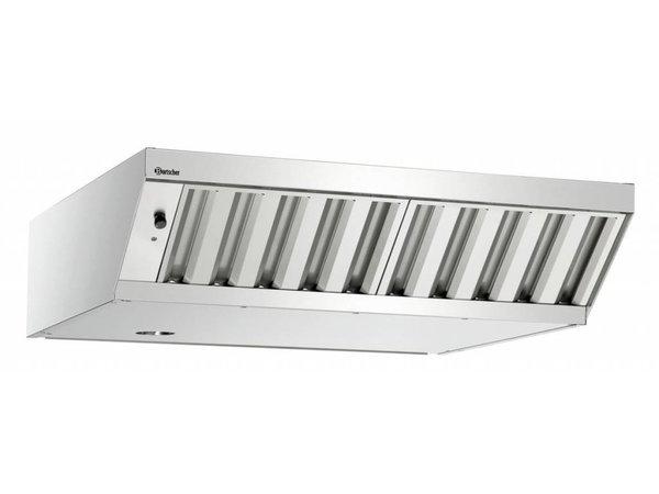 Bartscher Abzugshaube | Kombidämpfer M+E Modelle | 100-540  m³/h | 900x875x(h)230mm