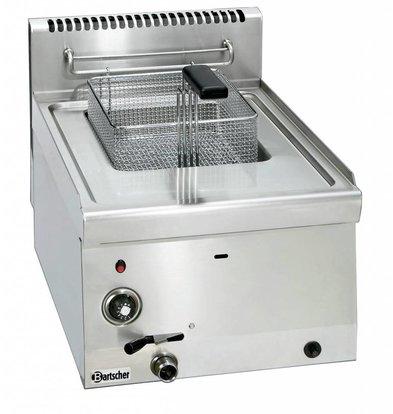 Bartscher Gas-Friteuse 600 Serie | 1x8 Liter | 6,7kW | 400x600x(h)290mm