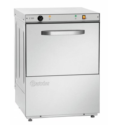 Bartscher Spülmaschine E500 LPR | Laugenpumpe | 600x640x(h)820mm
