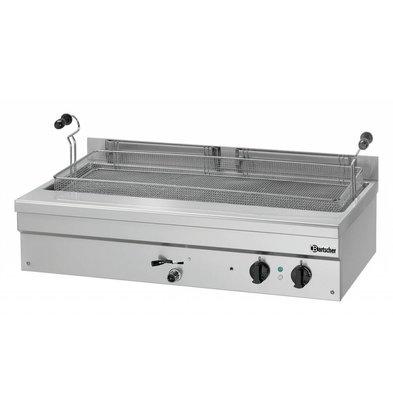 Bartscher Elektro-Backwarenfriteuse | 35 Liter | 400V/10kW | 1095x600x(h)340mm