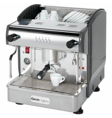 Bartscher Kaffeemaschine Coffeeline G1 | Dampfhahn | 2,85kW | 475x580x(h)523mm
