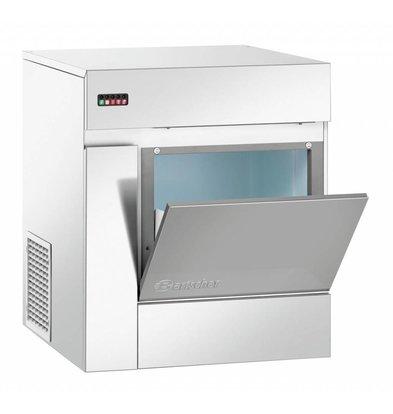 Bartscher Eisflockenbereiter | 90 kg/24 Std | Behälter 20kg | 570x600x(h)680mm