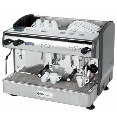 Bartscher Kaffeemaschine Coffeeline G2 | 2x Dampfhahn | 3,3kW | 677x580x(h)523mm