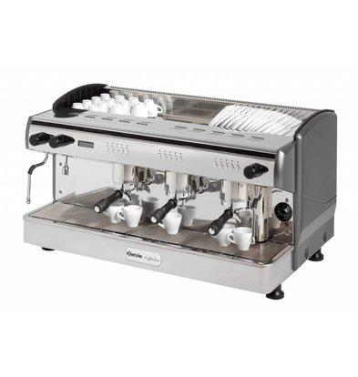 Bartscher Kaffeemaschine Coffeeline G3 | 2x Dampfhahn | 4,3kW | 967x580x(h)523mm