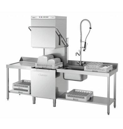 Bartscher Durchschub-Spülmaschine DS 903 | 60 Körbe pro St | 725x955x(h)1535mm