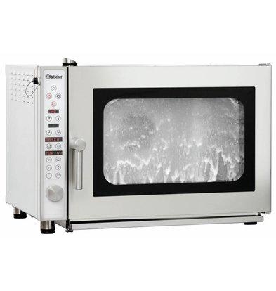 Bartscher Elektro-Kombidämpfer E 5110RS | 5x1/1GN  | Reinigungssystem | 890x815x(h)635mm