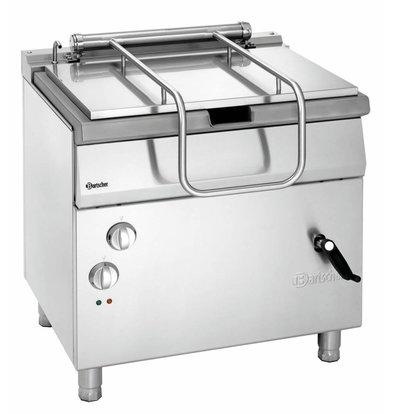 Bartscher Elektro-Kippbratpfanne 700 Serie | Handradkippvorrichtung | 800x700x(h)850-900mm