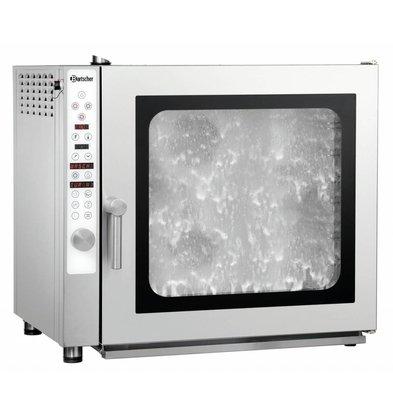 Bartscher Elektro-Kombidämpfer E 7110RS | 7x1/1GN  | Reinigungssystem | 890x815x(h)815mm
