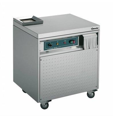 Bartscher Besteckpoliermaschine  | 5000-6000 Bestecktele pro St | 0,9 kW | 690x595x(h)780mm