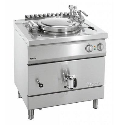 Bartscher Elektro-Kochkessel 700 Serie | indirekte Beheizung | 55 Liter | 800x700x(h)850-900mm