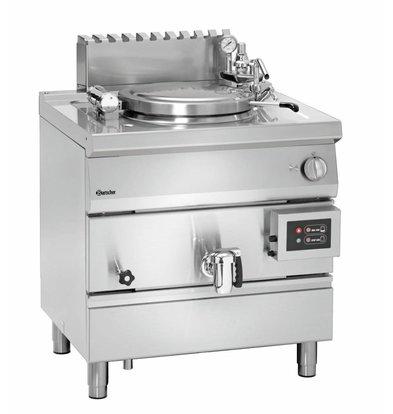 Bartscher Gas-Kochkessel 700 Serie | 55 Liter | 800x700x(h)850-900mm