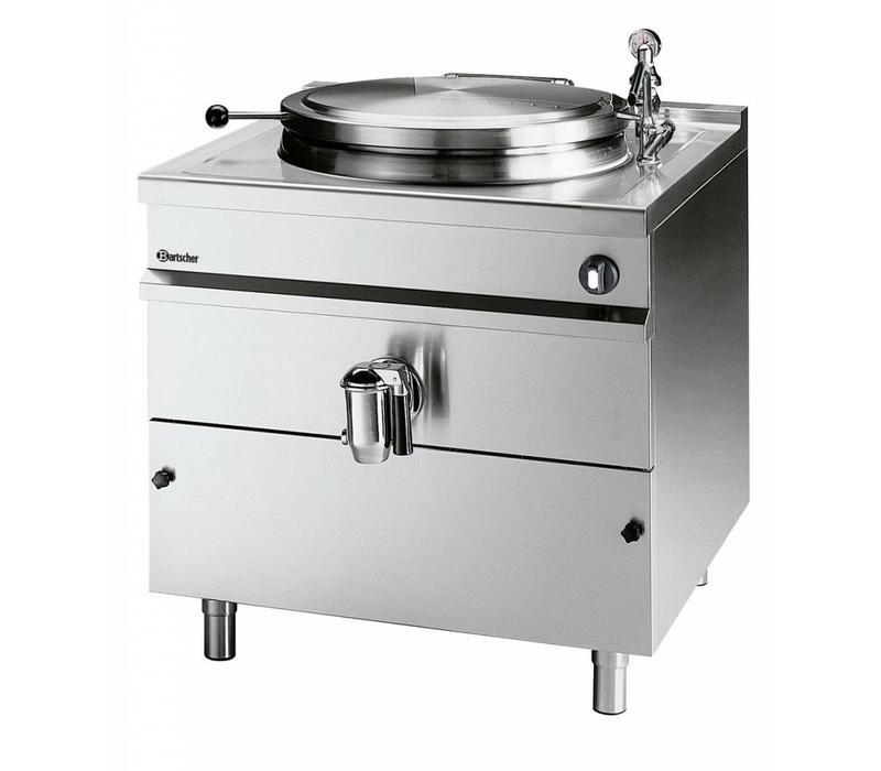 Bartscher Elektro-Kochkessel | Edelstahl | 145 Liter | 18kW/400V | 800x900x(h)900mm
