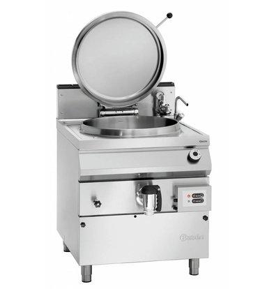 Bartscher Gas-Kochkessel 900 Serie | Füllstandskontrolle | 117 Liter |  800x900x(h)900-950mm