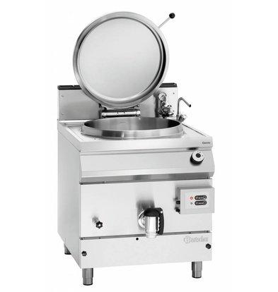 Bartscher Gas-Kochkessel 900 Serie | Füllstandskontrolle | 135 Liter |  800x900x(h)900-950mm