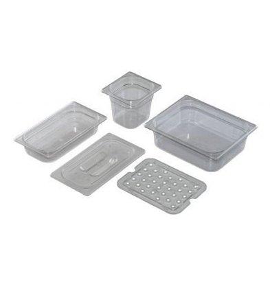 Saro Gastronormbehälter Polycarbonat 1/9GN | Tiefe 100mm