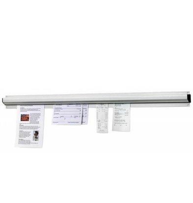 Bartscher Zettelhalter | Aluminium | 910mm