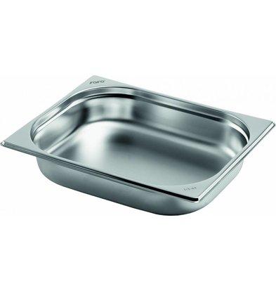 Saro Gastronormbehälter Edelstahl 1/2GN | Tiefe 20mm