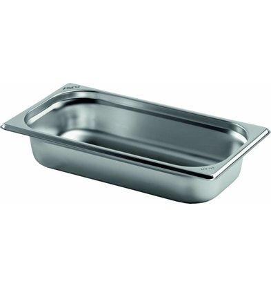 Saro Gastronormbehälter Edelstahl 1/3GN | Tiefe 100mm