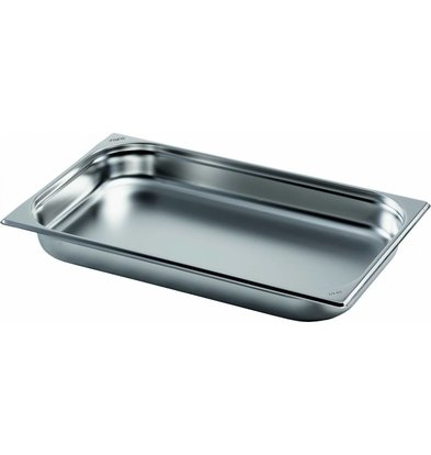 Saro Gastronormbehälter Edelstahl 1/1GN | Tiefe 20mm