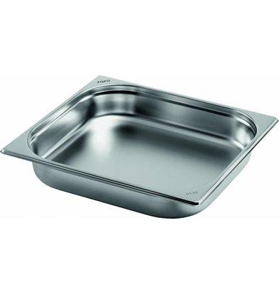 Saro Gastronormbehälter Edelstahl 2/3GN | Tiefe 40mm