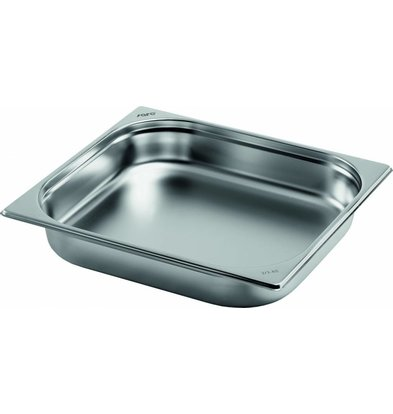 Saro Gastronormbehälter Edelstahl 2/3GN | Tiefe 65mm