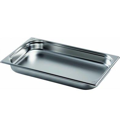 Saro Gastronormbehälter Edelstahl 1/1GN | Tiefe 65mm