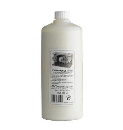 Saro Flüssige Schuhcreme | 1 Liter | Transparent