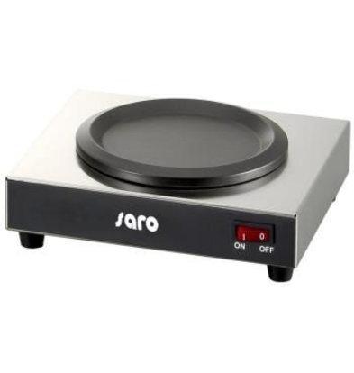 Saro Warmhalteplatte | Temperatur bis 80° C | Nutzfläche 110 mm | 220x210x(h)80mm