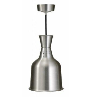 Saro Buffet-Lampe Infrarot | 230V-250W | Ø 184mm | Aluminium