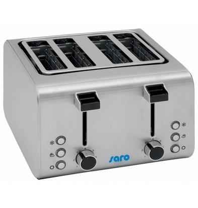 Saro Toaster | 4 Schlitzen | 320x280x(h)200mm