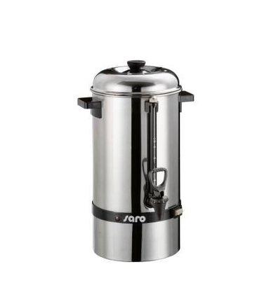 Saro Edelstahl Perkolator | 48 Tassen | 6,8 Liter | Ø235x(h)480mm