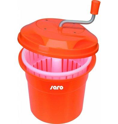 Saro Salatschleuder | 12 Liter | Kunststoff