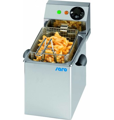 Saro Elektro Friteuse Profi   6 Liter   Element herausnehmbar  260x410x(h)340mm