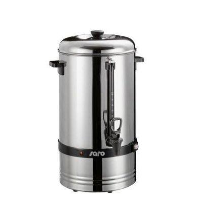 Saro Edelstahl Perkolator | 78 Tassen | 10 Liter | Ø275x(h)540mm