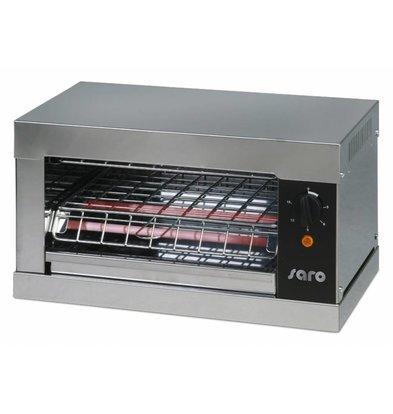 Saro Toaster | 1 Kammer | Krümelblech | 440x260x(h)250mm