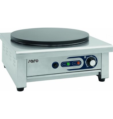 Saro Crêpes-Gerät Ø400mm | 230V-3kW | 450x490x235(h)mm